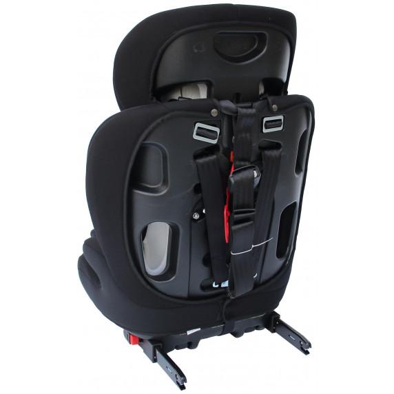 Clamaro autosedačka s ISOFIX: Barva - Černá -Červená