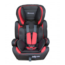 Baby Coo autosedačka BRAVO Black Red Preview