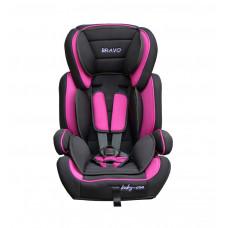 Baby Coo autosedačka BRAVO Black Pink Preview
