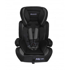 Baby Coo autosedačka BRAVO Black Grey Preview