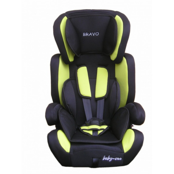 Baby Coo autosedačka BRAVO Black Green