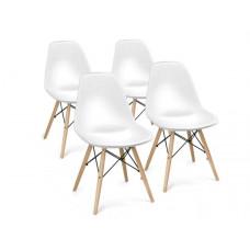 Jídelní židle 4 ks - bílé Preview
