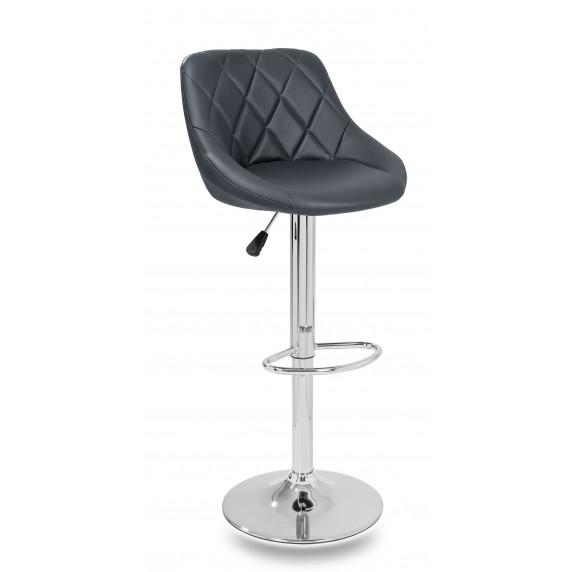 Aga Barová židle Šedá