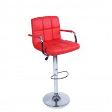 Aga Barová židle s područkami BH014 Red Preview