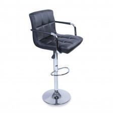 Aga Barová židle s područkami BH012 Black Preview