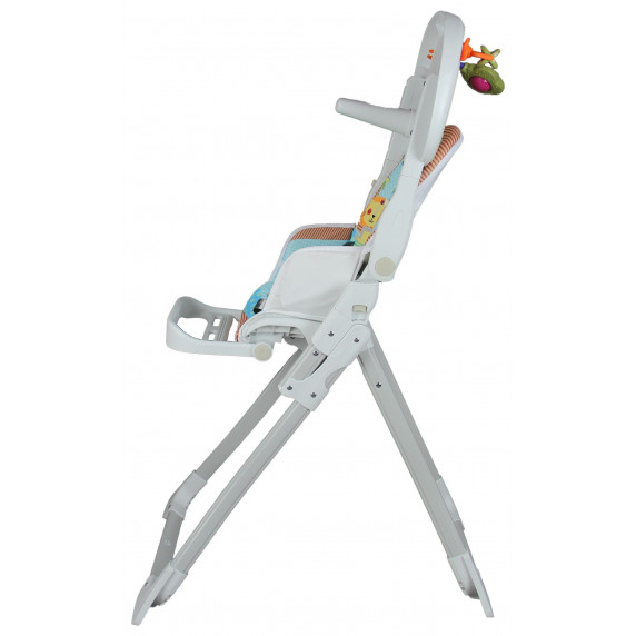 Clamaro Jídelní židlička Květinkový