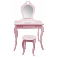 Aga4Kids Dětský toaletní stolek MRDTC02P - růžový