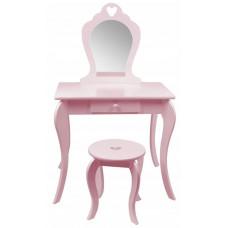 Aga4Kids Dětský toaletní stolek MRDTC02P - růžový Preview