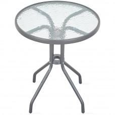 Aga Zahradní stůl MR4350DGY 70x60 cm - antracitový Preview