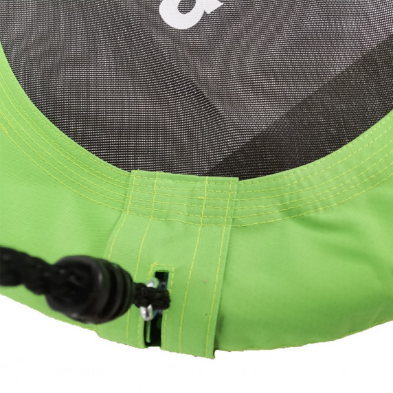 Závěsný houpací kruh Aga MR1060G 60 cm - zelený