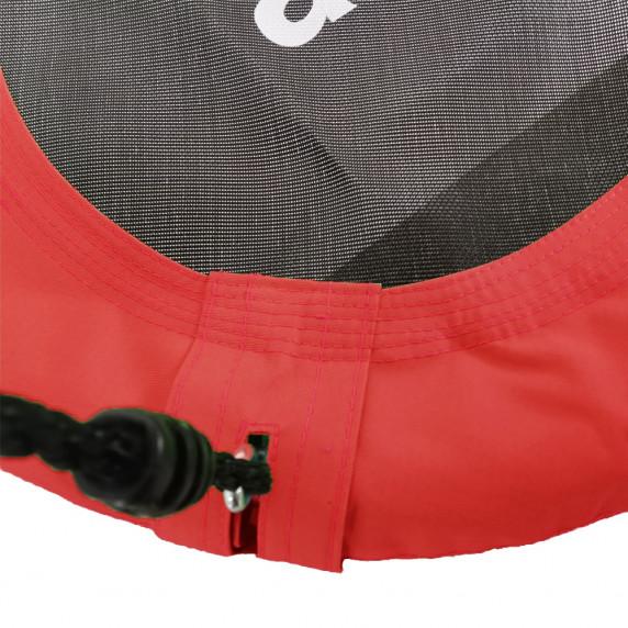 Závěsný houpací kruh Aga MR1120R 120 cm - červený
