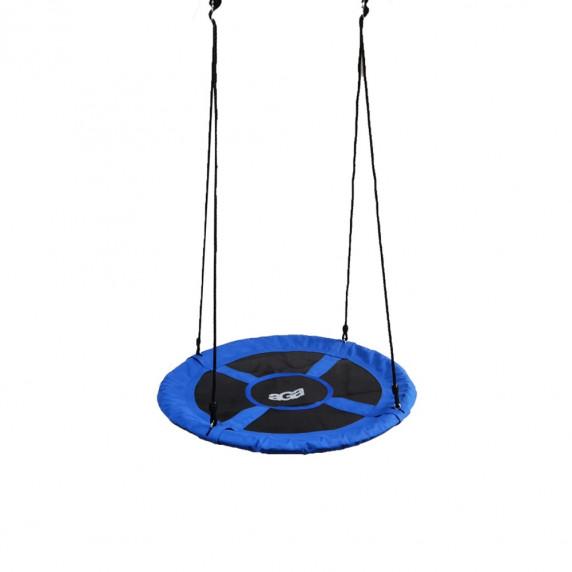 Závěsný houpací kruh Aga MR1060G 100 cm - modrý