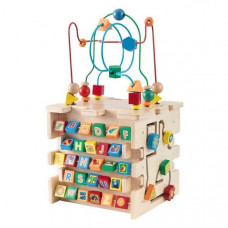 KidKraft didaktická kostka DELUXE ACTIVITY CUBE 63298 Preview