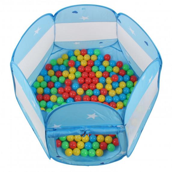 Dětský hrací stan Aga4Kids ST-005-BLUE - Modrý