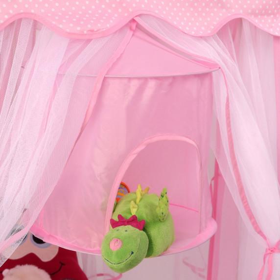 Aga4Kids Dětský stan Princess CLASSIC STYLE ST-030A-PINK - ružova