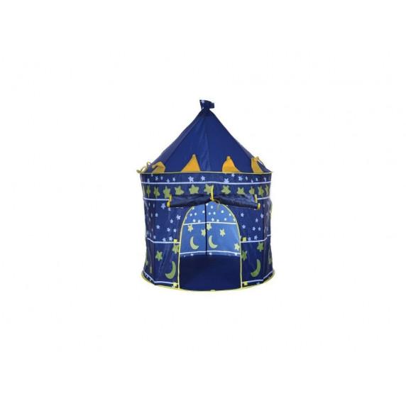 Dětský hrací stan Aga4Kids CASTLE  Beautiful Cubby house KL999 ST-0108 - Tmavomodrý