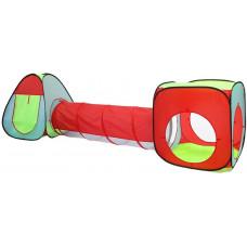 Dětský hrací stan se spojovacím tunelem Aga4Kids MR0031 - barevný Preview