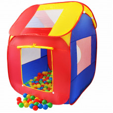 Kiduku Dětský hrací domeček s míčky KZ-007 Preview