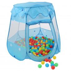 Dětský hrací stan Aga4Kids ST-005-BLUE - Modrý Preview