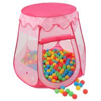 Dětský hrací stan Aga4Kids ST-005-PINK - Růžový