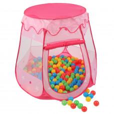 Dětský hrací stan Aga4Kids ST-005-PINK - Růžový Preview