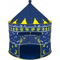 Dětský hrací stan Aga4Kids CASTLE - tmavě modrý