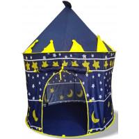 Aga4Kids Dětský hrací stan CASTLE  Beautiful Cubby house KL999 ST-0108 - Tmavomodrý