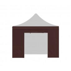 AGA Bočnice s dveřmi POP UP 3x3 m Brown Preview