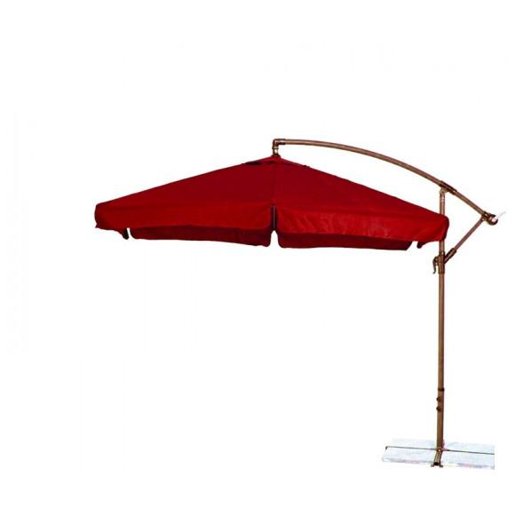 AGA záhradný konzolový slunečník EXCLUSIV GARDEN 300 cm Dark Red