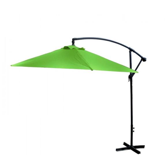 Aga Záhradný slnečník EXCLUSIV BONY 300 cm Apple Green