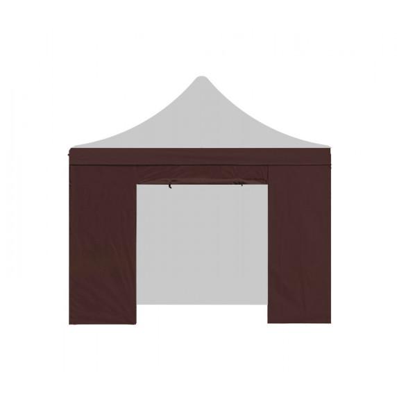 Aga Bočnice s dveřmi POP UP 2x2 m Brown