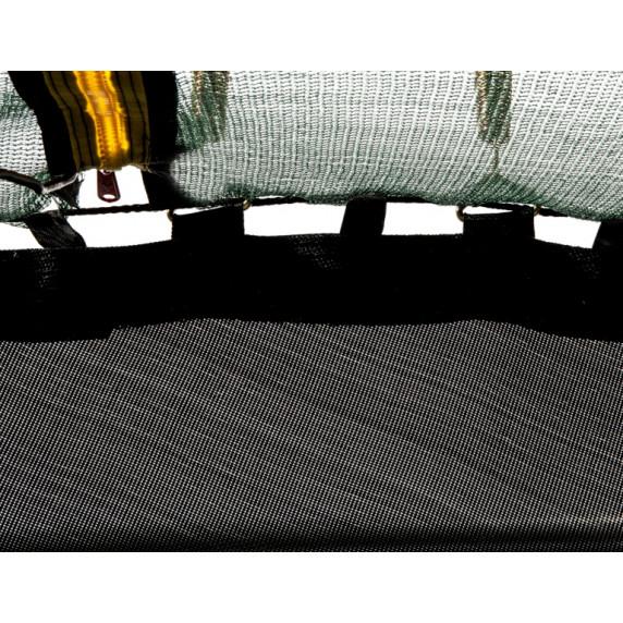 Trampolína Aga SPORT FIT 305 cm s vnitřní ochrannou sítí tmavězelená
