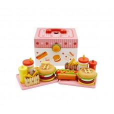 Aga4Kids Hamburger kufr HAMBURGER TOY Preview