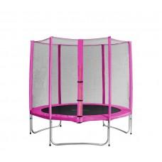 Aga SPORT PRO Trampolína 250 cm Pink + ochranná síť Preview