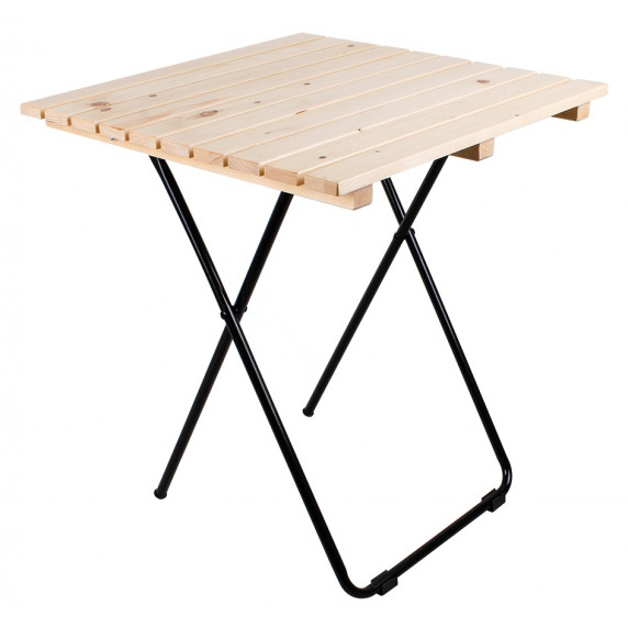 Zahradní stolek Linder Exclusiv MC4711 45 x 50 x 45 cm - přírodní