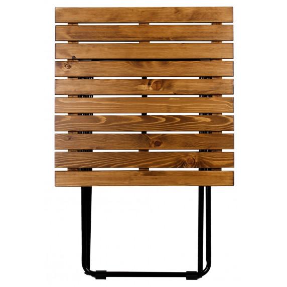 Zahradní stolek Linder Exclusiv MC4712 45 x 50 x 45 cm - hnědý