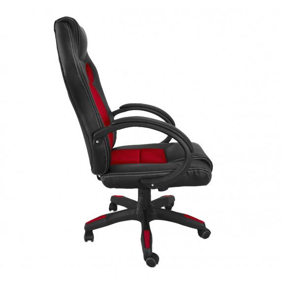 Kancelárské kreslo Aga Racing MR2070 černa-červená