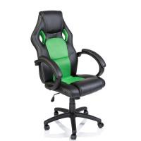 Kancelářské křeslo Tresko Racing RS-013 - černo-zelené