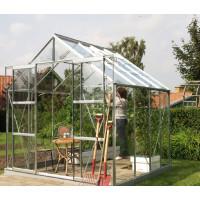 VITAVIA URANUS skleník 8300 číre sklo 3 mm - stříbrný