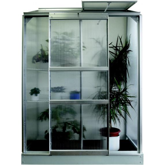 VITAVIA IDA skleník 900 PC 6 mm stříbrný