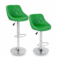 Aga Barová židle 2 kusy Zelená