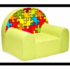 Aga Dětské křesílko MAXX 269 - Puzzle Preview