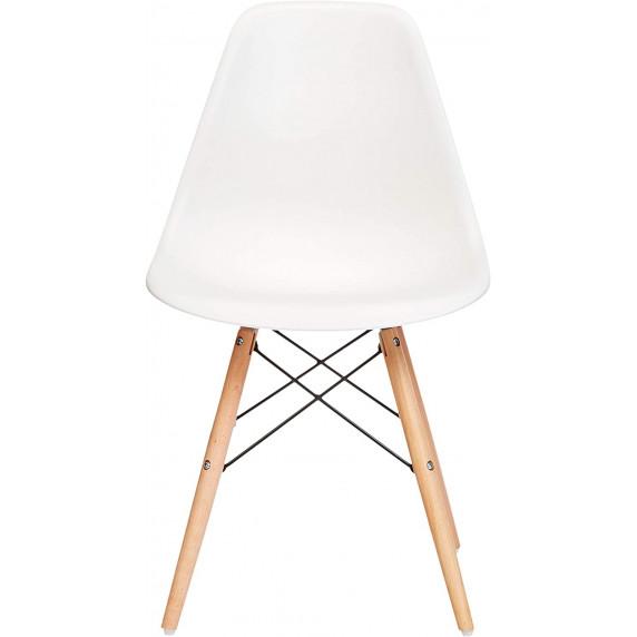 Aga Jídelní židle 4 ks - bílé