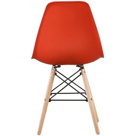 Aga Jídelní židle 4 ks - červená