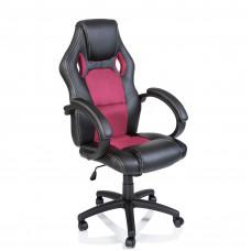 Kancelářské křeslo Tresko Racing RS-007 - černo-růžové Preview