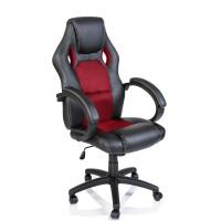 Kancelárské kreslo Aga Racing RS008 černa-červená
