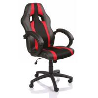 Kancelářské křeslo Aga Racing RS021 černo - červené