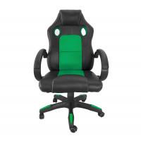 Kancelárské kreslo Aga Racing MR2070 černo-zelene