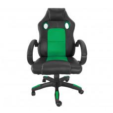 Kancelárské kreslo Aga Racing MR2070 černo-zelene Preview