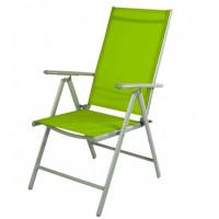 Zahradní skládací křeslo Linder Exclusiv 7-WAY MC5000B Green